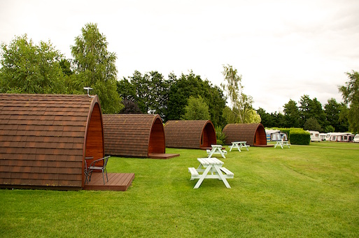 Glamping Pods in Formation